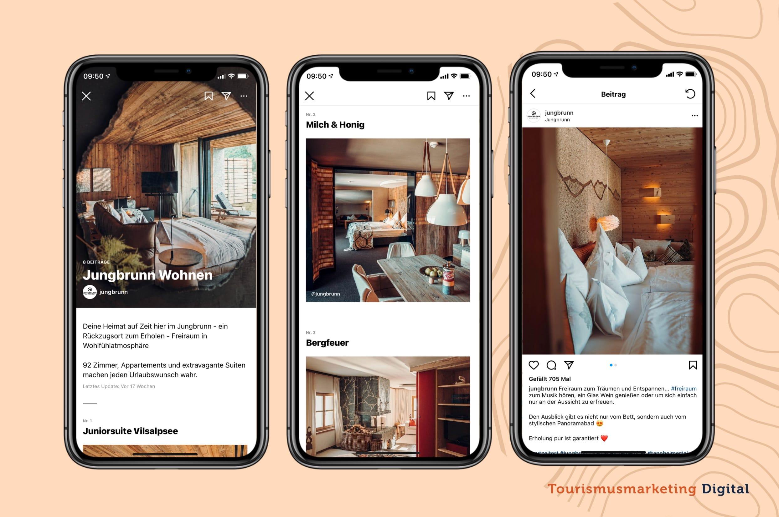Instagram Guides in der Hotelerie